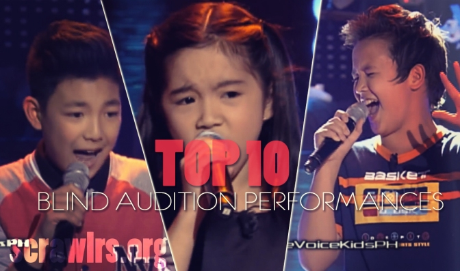 Top 10 Blind Audition Performances, The Voice Kids PH