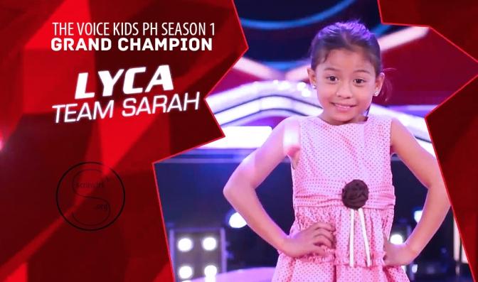 Lyca Gairanod wins The Voice Kids Philippines Season 1