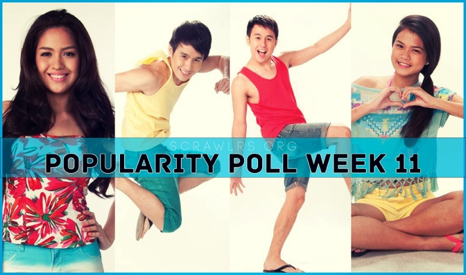 PBB ALL IN, Popularity Poll Week 10 Results, Fifth Fourth Pagotan Solomon, , Jane Oineza, Maris Racal
