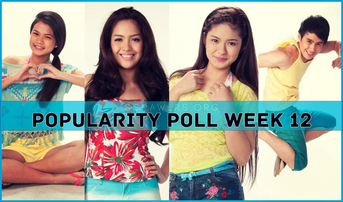 PBB ALL IN, Popularity Poll Week 12 Results, Loisa Andalio, Fifth Solomon, , Jane Oineza, Maris Racal