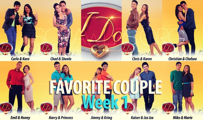 I Do — Popularity Poll Week 1: Who's Your Favorite Couple So Far?