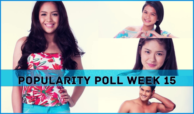 PBB ALL IN, Popularity Poll Week 15 Results, Loisa Andalio, Daniel Matsunaga, , Jane Oineza, Maris Racal
