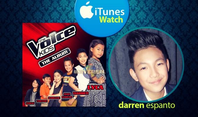 Darren Espanto, The Voice Kids PH