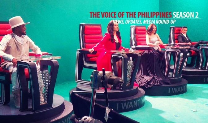 TVOP Season 2 Blind Auditions Taping Starts Today! (PHOTOS + Updates Inside!)