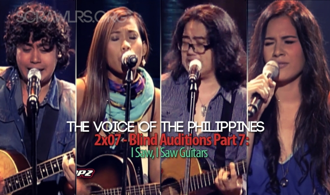The Voice PH — 2×07 — The Blind Auditions Part 7: I Saw, I Saw Guitars