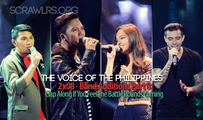 The Voice PH — 2×08 — The Blind Auditions Part 8: Clap Along If You Feel The Battle Rounds Coming!