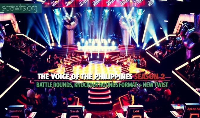 The Voice PH Season 2 — Battle Rounds and Knockout Rounds Format (Plus A New Battle Twist!)