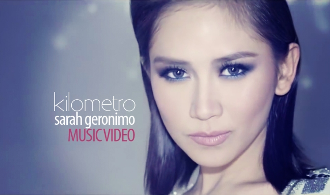 sarah geronimo, kilometro, sarah g, music video, perfectly imperfect