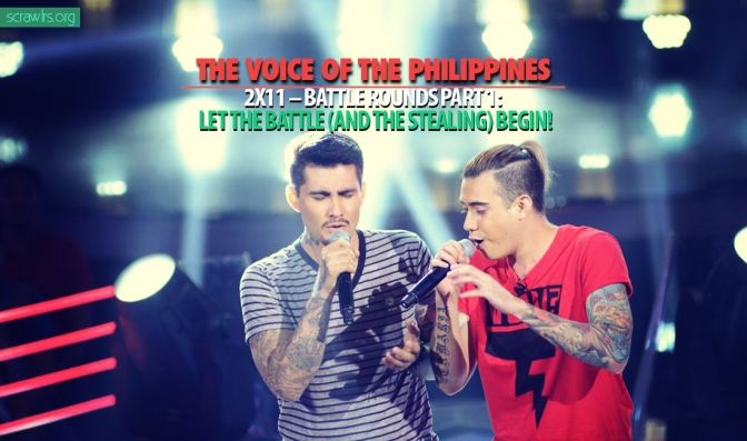 The Voice of the Philippines Season 2, TVOP 2, Battle Rounds, Knockout Rounds, format, steal, song spoiler