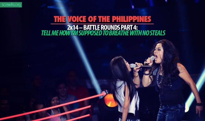 The Voice of the Philippines Season 2, TVOP 2, Battle Rounds, Knockout Rounds, format, steal, song spoiler, battle pairings