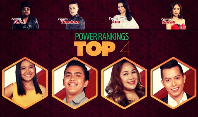 The Voice PH Season 2 — Top 4 Power Rankings