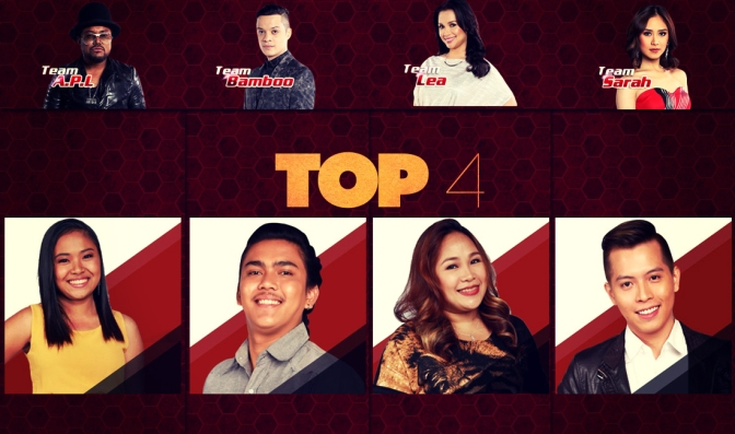 The Voice PH Season 2 — Rank Your Top 4! Who Should Win?