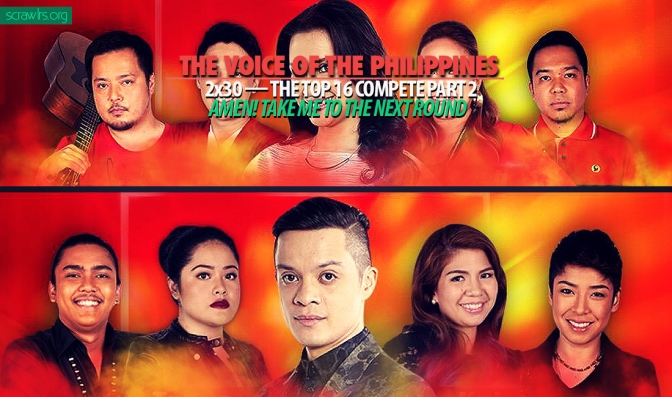 Top 16, Live Shows, The Voice of the Philippines, TVOP 2, Season 2, Power Ranking, Results Show