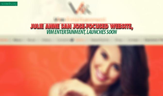 Julie Anne San Jose-focused Website, Vim Entertainment Launches Soon