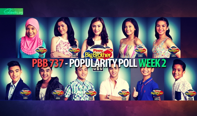 PBB 737 — Popularity Poll Week 2: Who are your favourite housemates so far?