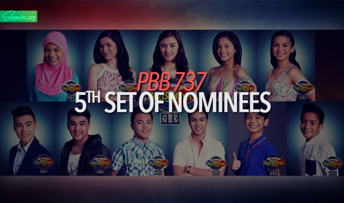 Pinoy Big Brother, PBB, PBB737, 737, Housemates, Popularity Poll, Ryan Bacalla, Bailey May, Jimboy Martin, Aila Antopina, Kamille Filoteo, Barbie Imperial, Kenzo Gutierrez, Kyle Secades, Zonia Mejia, Franco Rodriguez, Ylona Garcia, Enchong Dee, Nomination Night, Nominees, Points, Ligtask