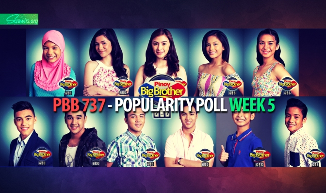 PBB 737 — Popularity Poll Week 5: Who are your favourite housemates so far?