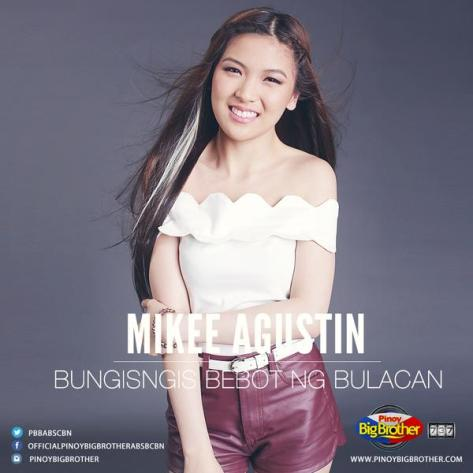 Pinoy Big Brother, PBB, PBB737, 737, Housemates, Mikee Trixia Agustin