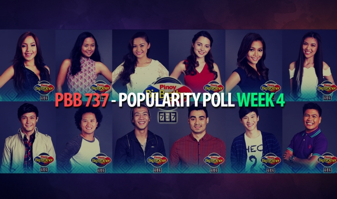 PBB 737 — Regulars' Popularity Poll Week 4: Who Are Your Favourite Housemates So Far?