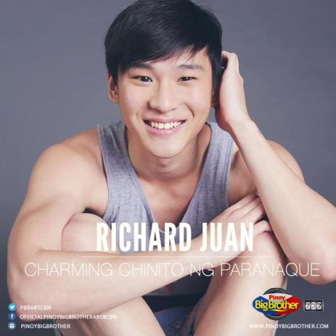 Pinoy Big Brother, PBB, PBB737, 737, Housemates, Richard Hwan, Richard Juan
