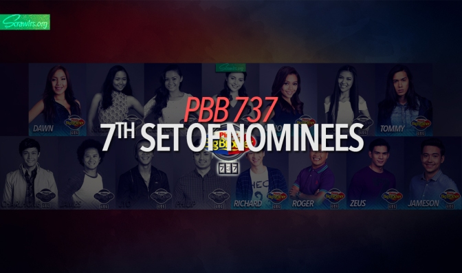 Pinoy Big Brother, PBB, PBB737, 737, Housemates, Popularity Poll, Regulars, Mikee Trixia Agustin, Richard Juan, Richard Hwan, Roger Lucero, Jessica Marasigan, Jyo Yokoyama, Miho Nishida, James Linao, Dawn Chang, Philip Lampart, Margo Katherine Midwinter, Charlhone Petro, Krizia Lusuegro, Tommy Esguerra, Zeus Collins, Jameson Blake, Nomination Points, Nominees, Nomination Night, Ligtask, Challenge