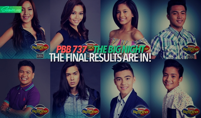 PBB 737 — The Big Night: The Final Results Are In!